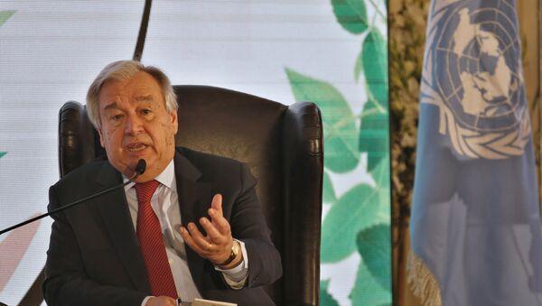 Генерални секретар УН Антонио Гутереш - Sputnik Србија