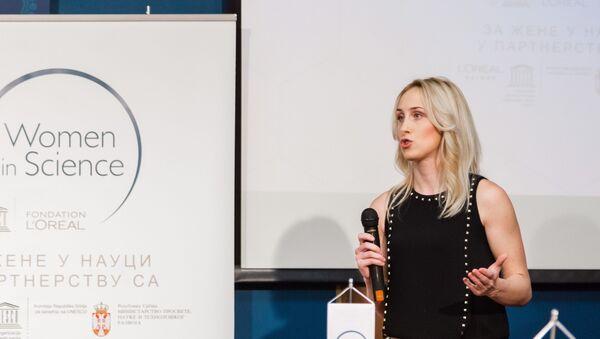 Emilija Stojanović, naučnica iz Niša - Sputnik Srbija