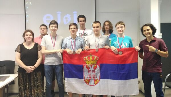 Mladi informatičari na Evropskoj juniorskoj informatičkoj olimpijadi - Sputnik Srbija