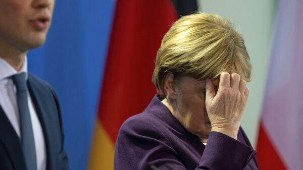 Angela Merkel Sebastijan Kurc - Sputnik Srbija