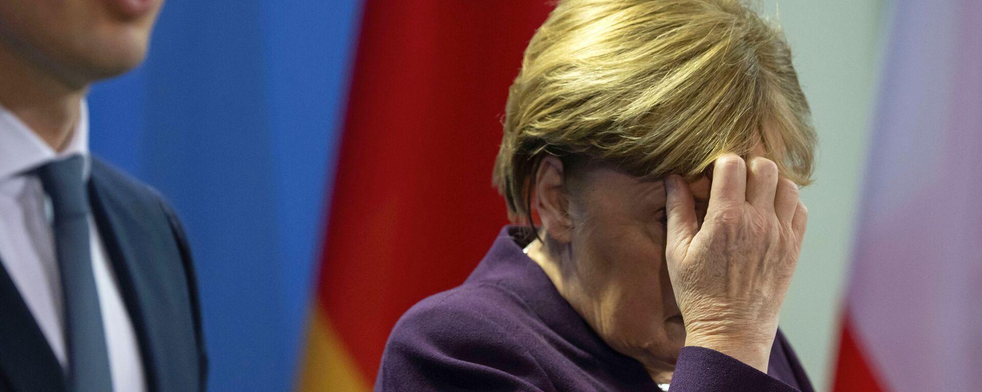 Angela Merkel Sebastijan Kurc - Sputnik Srbija, 1920, 17.09.2021