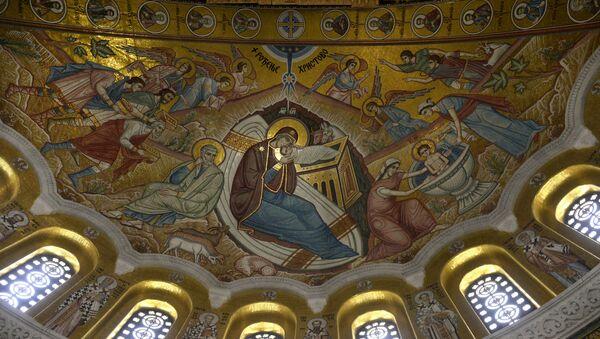 Радови на куполи Храма Светог Саве су завршени - Sputnik Србија