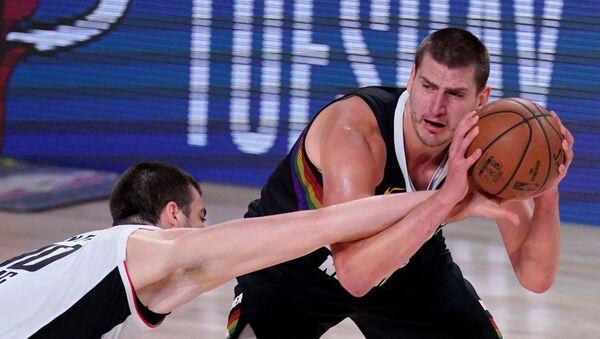 Košarkaš Denver Nagetsa Nikola Jokić - Sputnik Srbija