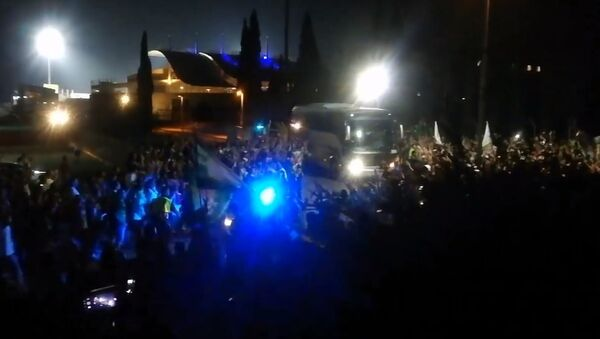 Аутобус Црвене Звезде на Кипру - Sputnik Србија