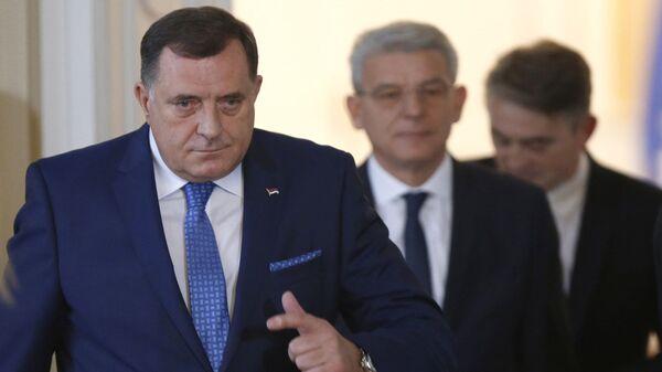 Председништво БиХ Милорад Додик Жељко Комшић Шефик Џаферовић - Sputnik Србија