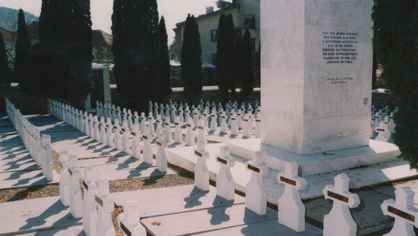 Грчко војничко гробље у Пироту. - Sputnik Србија