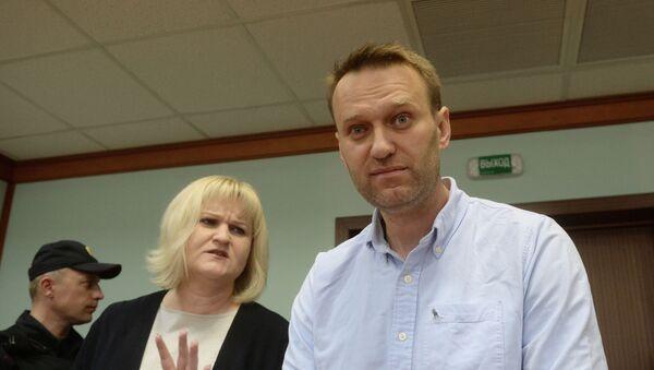 Руски блогер и опозиционар Алексеј Наваљни - Sputnik Србија