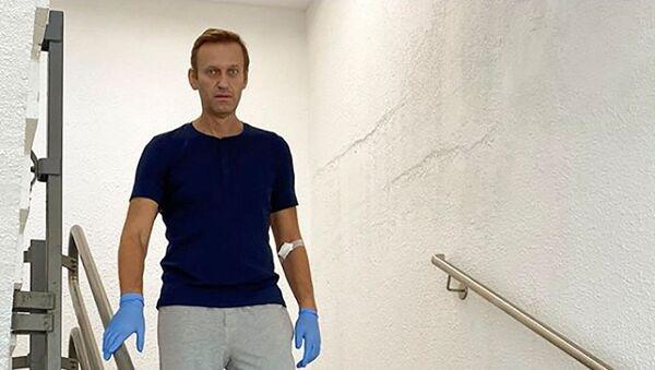 Ruski bloger i opozicionar Aleksej Navaljni u berlinskoj klinici Šarite - Sputnik Srbija