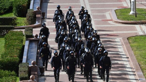 Појачано присуство полиције у Минску - Sputnik Србија