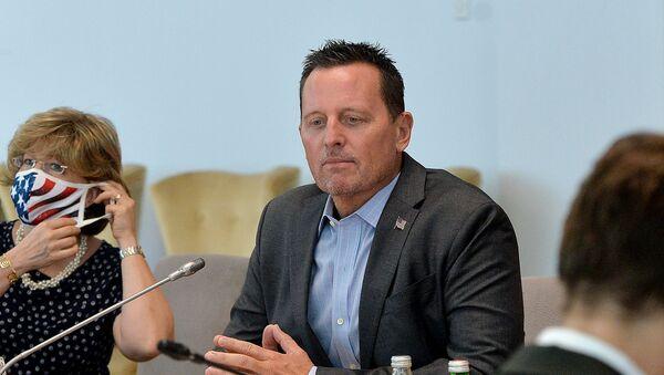 Специјални изасланик председника САД Ричард Гренел на састанку делегација у Београду - Sputnik Србија