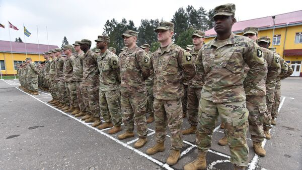 Војници САД у Лавовској области, Украјина - Sputnik Србија