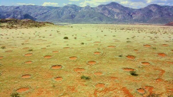 Вилински кругови у Намибијској долини Мариенфлус - Sputnik Србија
