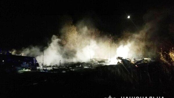 Место пада авиона Ан-26 код Харкова - Sputnik Србија