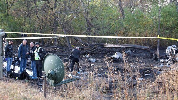 Olupine vojno-transportnog aviona An-26 koji se srušio u blizini Harkova - Sputnik Srbija