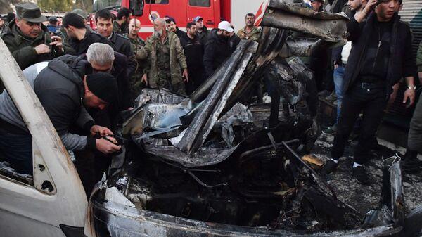 Сирија: Експлозија аутомобила-бомбе, има погинулих - Sputnik Србија