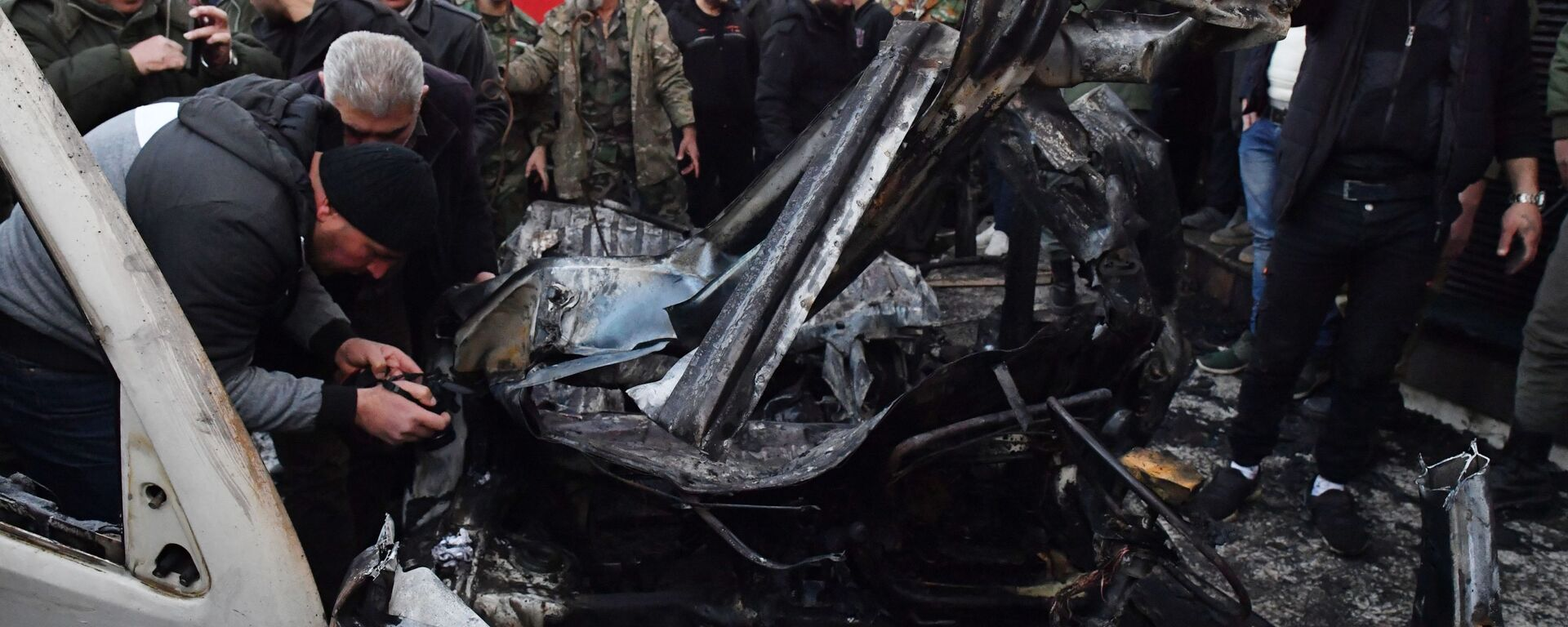 Сирија: Експлозија аутомобила-бомбе, има погинулих - Sputnik Србија, 1920, 08.09.2021