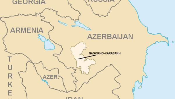 Mapa Nagorno-Karabaha - Sputnik Srbija