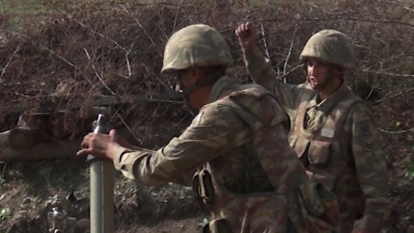 Oružane snage Azerbejdžana tokom borbi u Nagorno-Karabahu - Sputnik Srbija