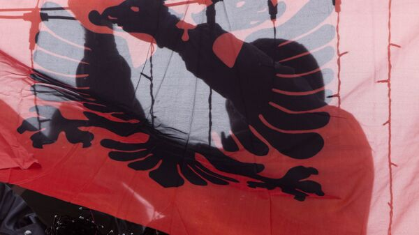 Застава Албаније - Sputnik Србија