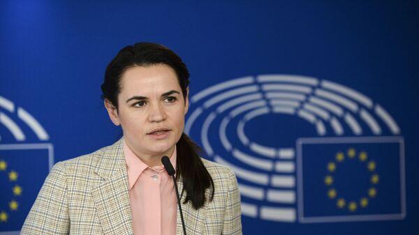 Bivši predsednički kandidat na izborima u Belorusiji Svetlana Tihanovska  - Sputnik Srbija