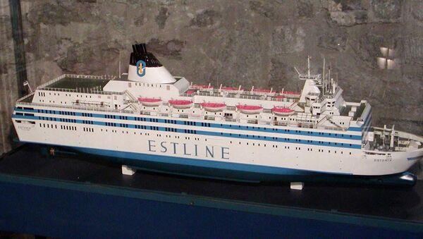 "Model trajekta ""Estonija"" - Sputnik Srbija"