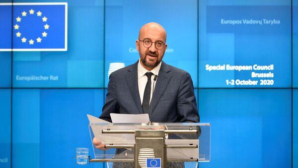 Predsednik Evropskog saveta Šarl Mišel  - Sputnik Srbija