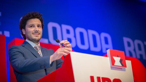 Dritan Abazović, lider URA - Sputnik Srbija