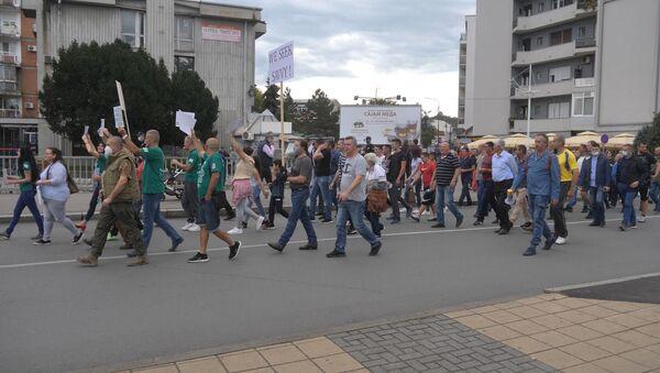Protest Lozničana protiv rudnika pokretanja rudnika litijuma - Sputnik Srbija