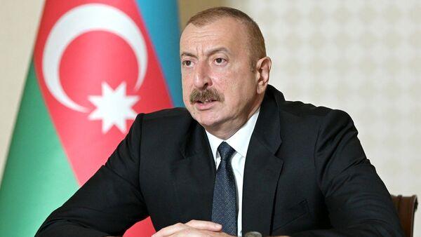 Predsednik Azerbejdžana Ilham Alijev - Sputnik Srbija