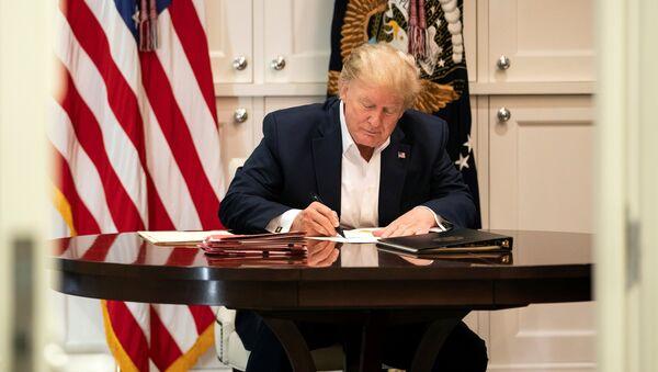 Američki predsednik Donald Tramp - Sputnik Srbija