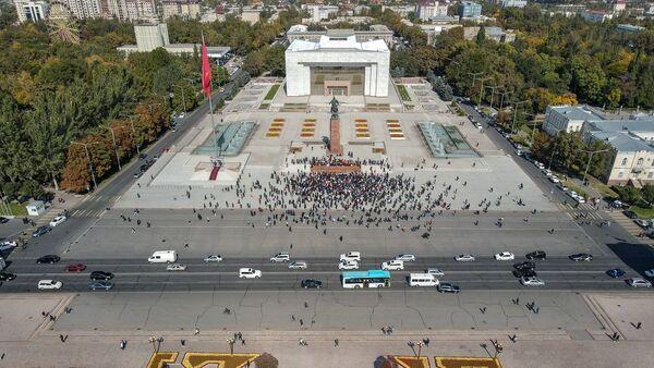 Protesti u Biškeku - Sputnik Srbija