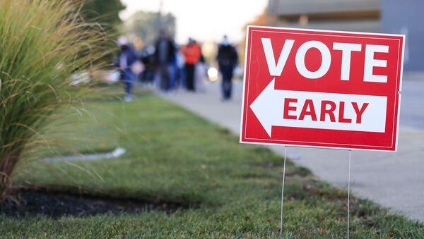 Glasanje u Americi pre izbornog dana - Sputnik Srbija