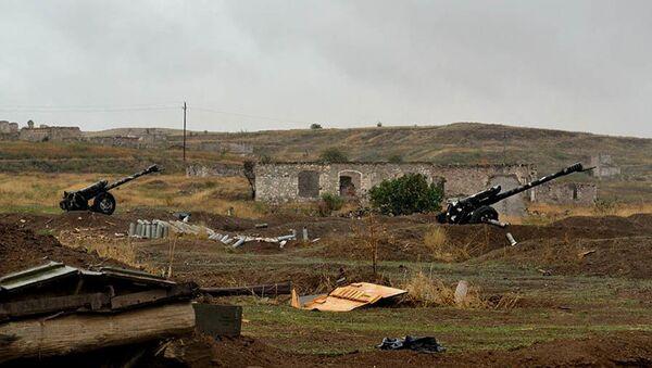 Jermenska vojna vozila koje je zaplenila azerbejdžanska vojska tokom sukoba u Nagorno-Karabahu - Sputnik Srbija