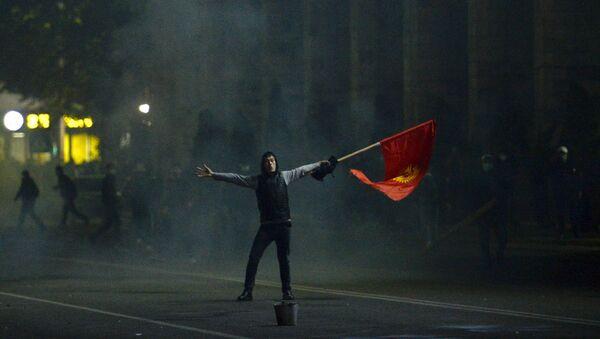 Протест у Бишкеку - Sputnik Србија