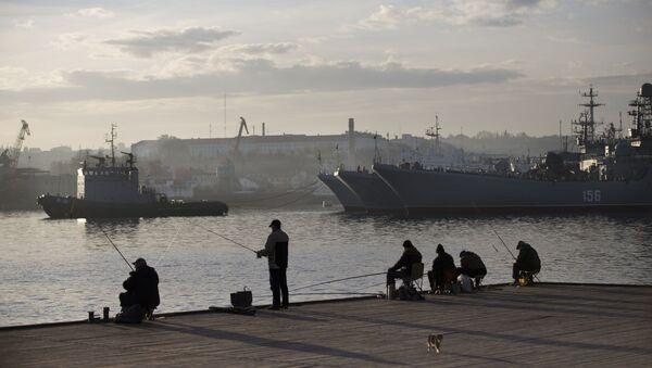 Brodovi Ratne mornarice Rusije u Sevastopolju na Krimu - Sputnik Srbija