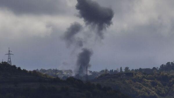 Napad azerbejdžanske vojske na istorijski grad Šuši u Nagorno-Karabahu - Sputnik Srbija