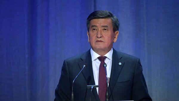 Председник Киргизије Соронбај Женбеков - Sputnik Србија