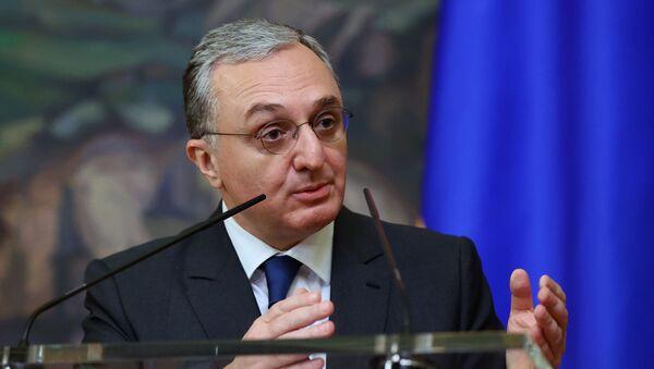 Шеф дипломатије Јерменије Зограб Мнацакањан - Sputnik Србија