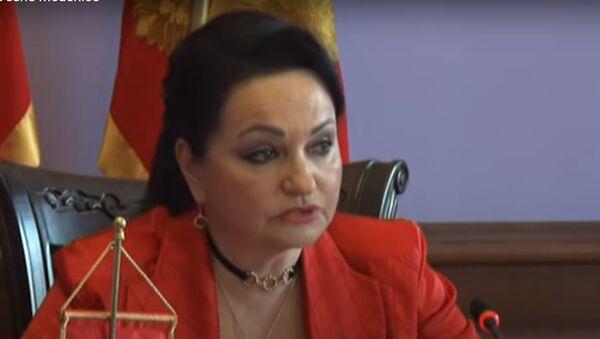 Predsednica Vrhovnog suda Crne Gore Vesna Medenica - Sputnik Srbija