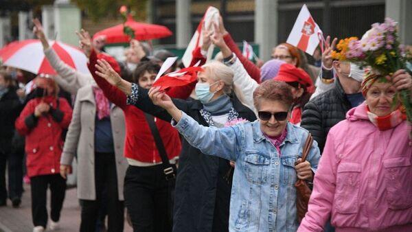 Протести пензионера у Минску - Sputnik Србија