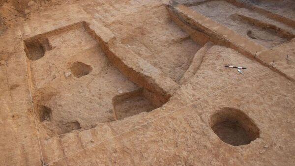 Радионица за топљење бакра стара око 6.500 година у Биршиби. - Sputnik Србија