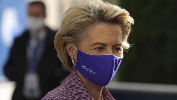 Председница Европске комисије Урсула фон дер Лајен - Sputnik Србија