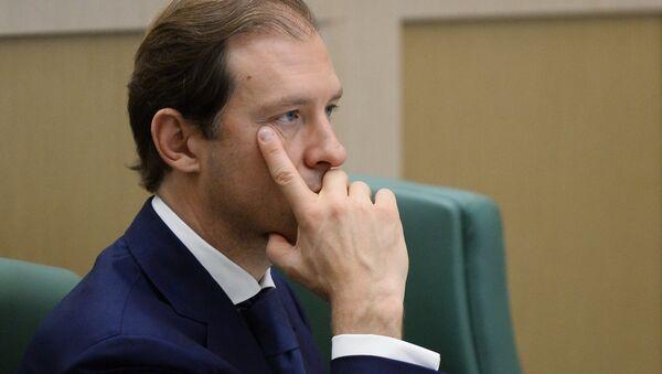 Ruski ministar industrije i trgovine Denis Manturov - Sputnik Srbija