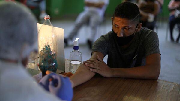 Тестирање на вирус корона у Бразилу - Sputnik Србија
