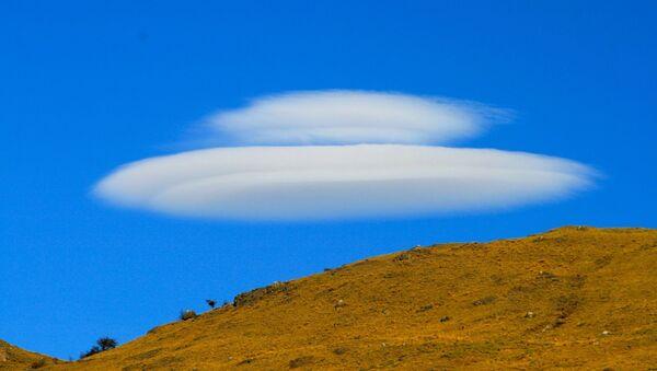 Облак у облику НЛО - Sputnik Србија