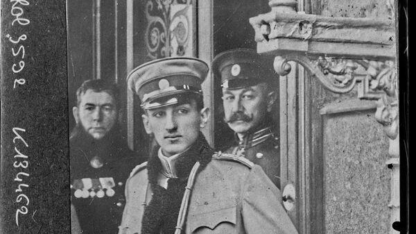 Престолонаследник Ђорђе у Санкт Петербургу. 17. октобра 1908. - Sputnik Србија