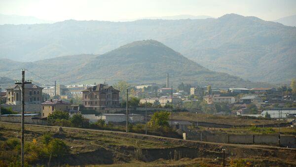 Поглед на Степанакерт у Нагорно-Карабаху - Sputnik Србија