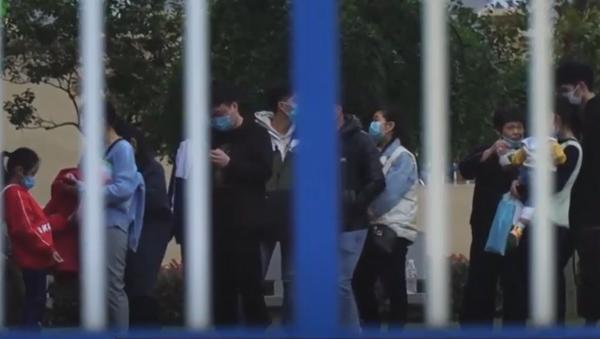 Red za vakcinu u Kini - Sputnik Srbija