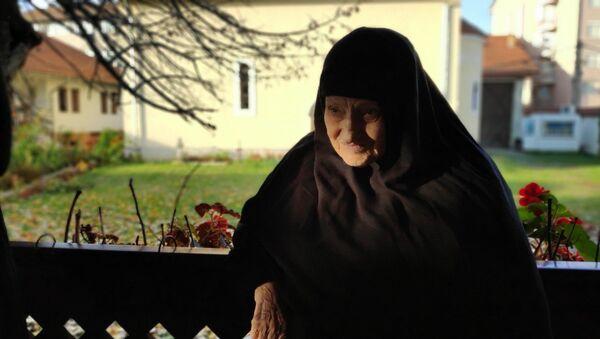 Mati Teoktista, igumanija manastira Uspenja Presvete Bogorodice u Đakovici. - Sputnik Srbija