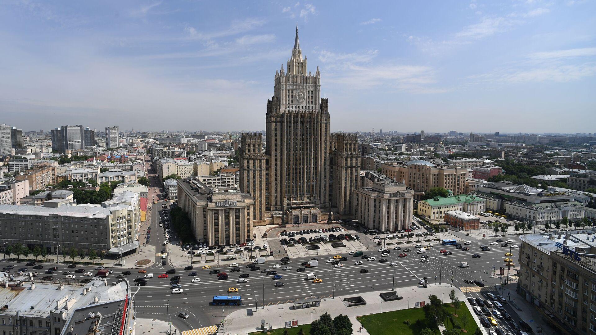 Зграда Министарства спољних послова Русије у Москви - Sputnik Србија, 1920, 14.10.2021